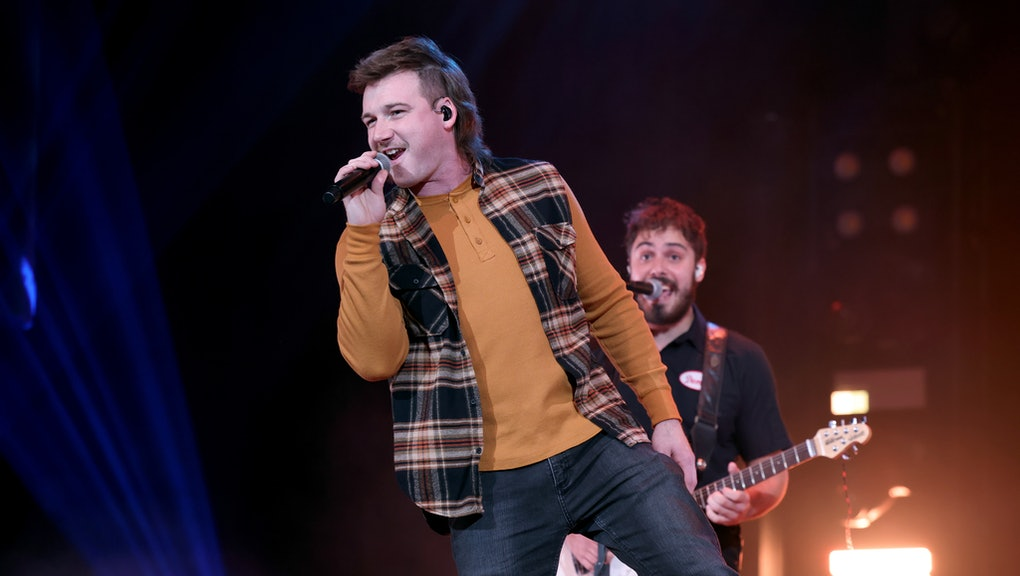 NASHVILLE, TENNESSEE - JANUARY 12: Morgan Wallen performs onstage at the Ryman Auditorium on January...