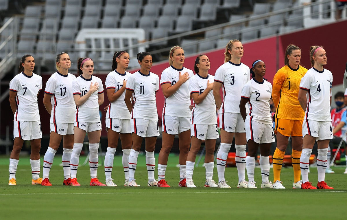 The US women's soccer team didn't attend the Olympics opening ceremony.