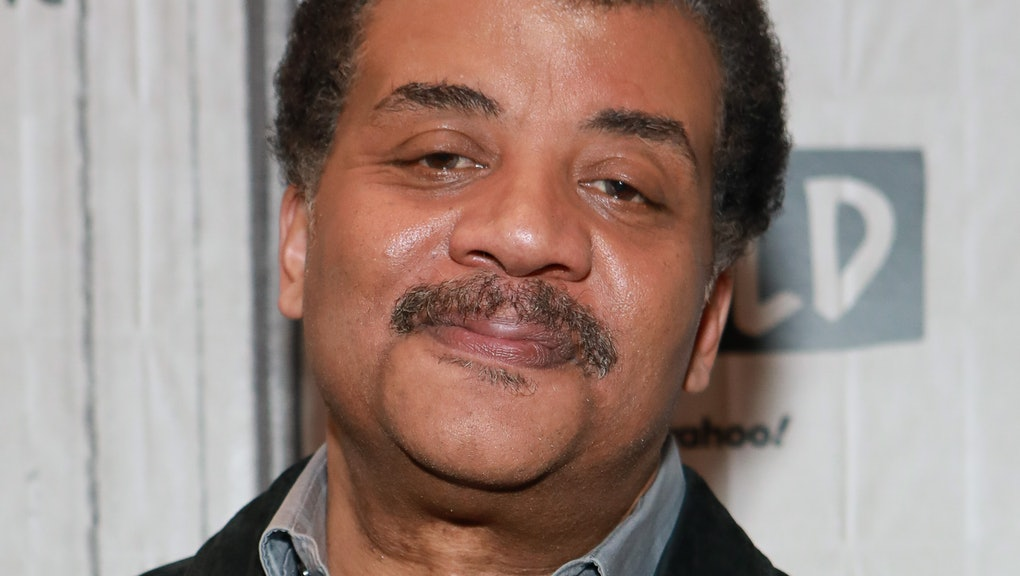 NEW YORK, NY - MARCH 09: Neil deGrasse Tyson visits Build at Build Studio on March 9, 2020 in New Yo...