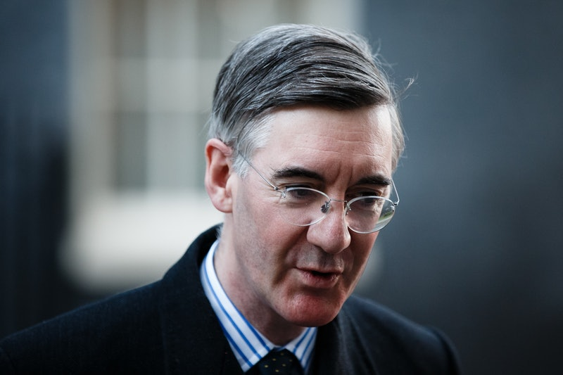 Lord President of the Council and Leader of the House of Commons Jacob Rees-Mogg, Conservative Party...