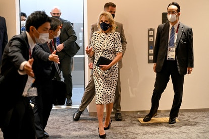 First Lady Dr. Jill Biden at the Opening Ceremony of the Tokyo 2021 Olympic Games