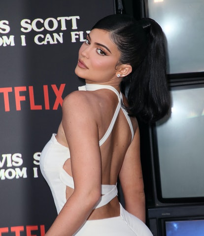 "SANTA MONICA, CALIFORNIA - AUGUST 27: Kylie Jenner attends the premiere of Netflix's ""Travis Scott: ..."