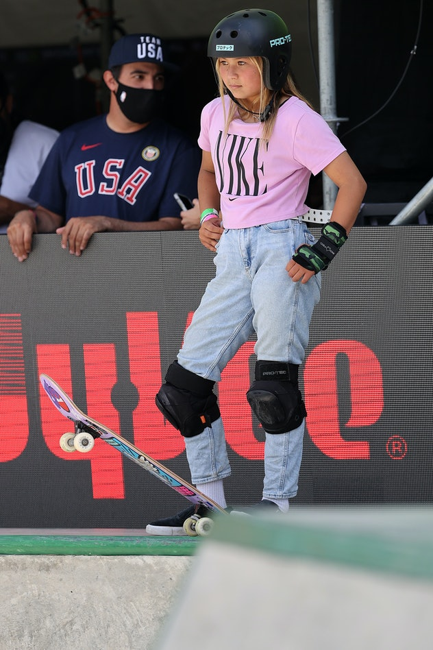 Sky Brown is a 13-year-old skateboarder.