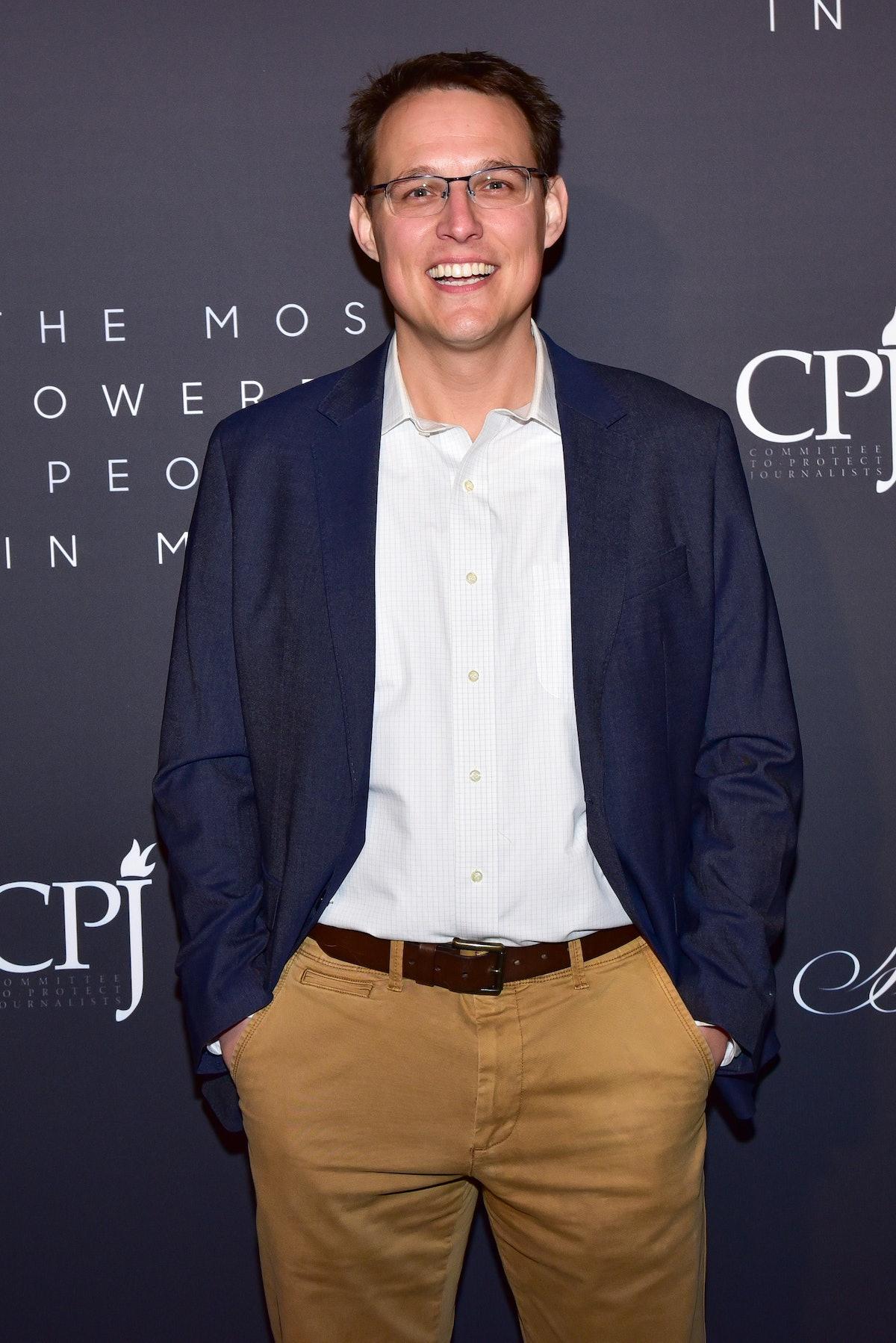 NEW YORK, NEW YORK - APRIL 11: Steve Kornacki attends The Hollywood Reporter Celebrates The Most Pow...