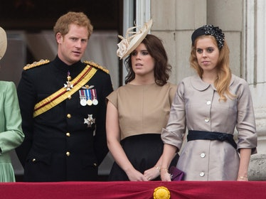 Prince Harry remains close with Princess Beatrice and Princess Eugenie.