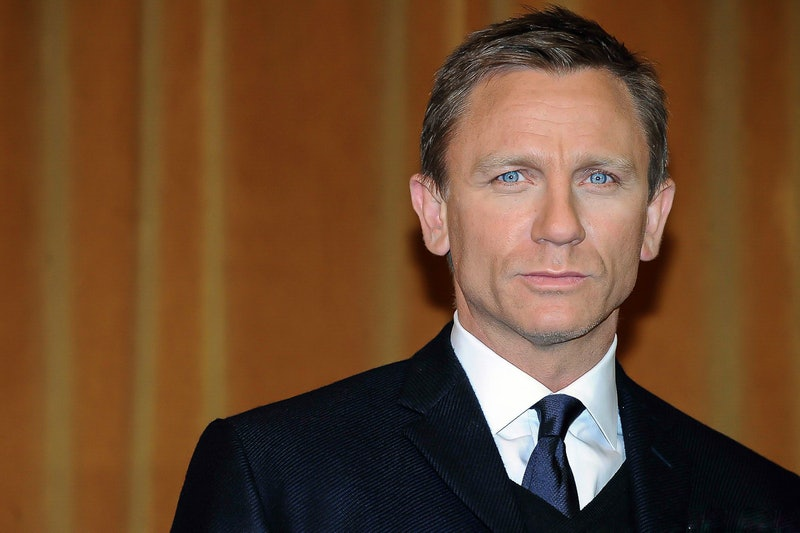 British actor Daniel Craig during the presentation of the new film Defiance. Rome (Italy), January 1...