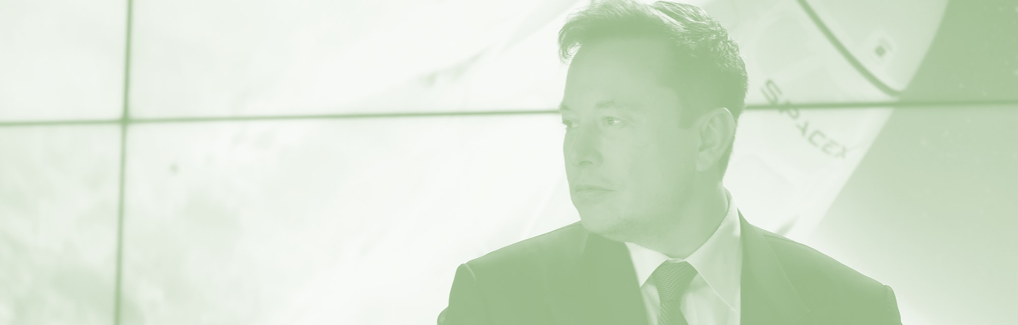 January 19, 2020 - Kennedy Space Center, Florida, United States - SpaceX CEO Elon Musk prepares to d...