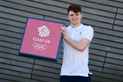LONDON, ENGLAND - JUNE 02: Matty Lee of Great Britain poses for a photo to mark the official announc...