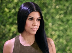 CULVER CITY, CA - NOVEMBER 19: TV personality Kourtney Kardashian attends the WWD And Variety inaugural stylemakers' event at Smashbox Studios on November 19, 2015 in Culver City, California.