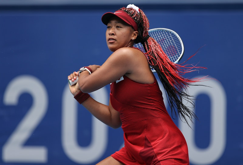 Naomi Osaka plays at the Tokyo Olympics. This Naomi Osaka quote shows how to build resilience.
