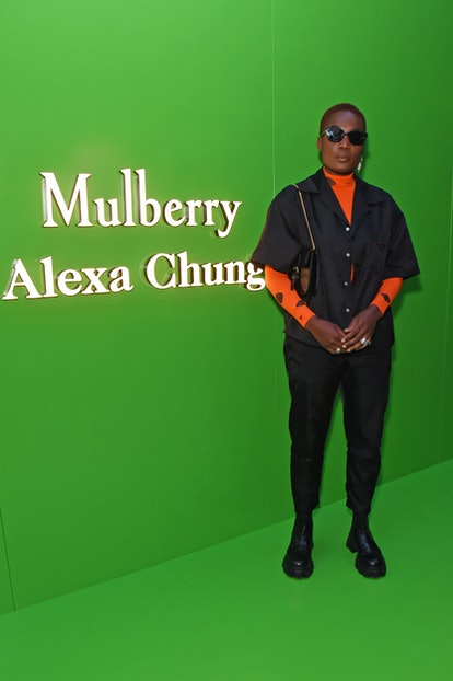 LONDON, ENGLAND - JULY 22:  Arlo Parks attends the launch of the Mulberry x Alexa Chung collection a...