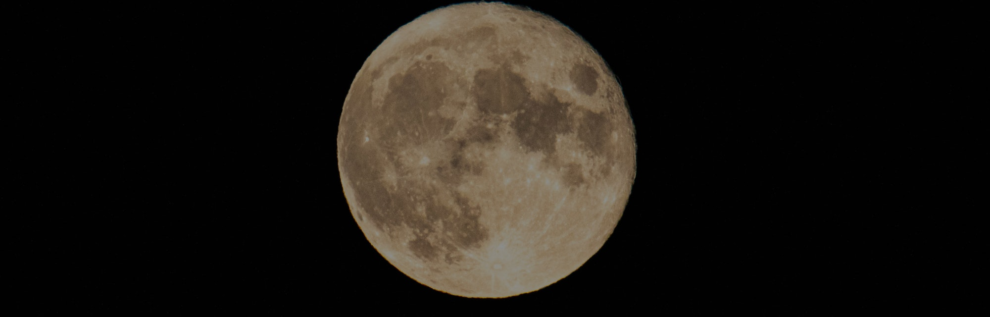 The Summer July Full Moon nicknamed as Buck Moon as seen from Florina city, Greece on July 25, 2021....