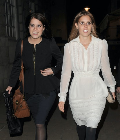 Princess Beatrice and Princess Eugenie support Prince Harry's book release.