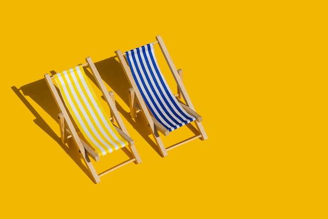 Summer pleasure concept
