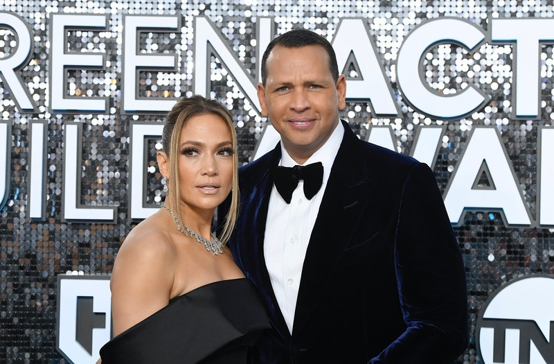 LOS ANGELES, CALIFORNIA - JANUARY 19: (L-R) Jennifer Lopez and Alex Rodriguez attend the 26th Annual...