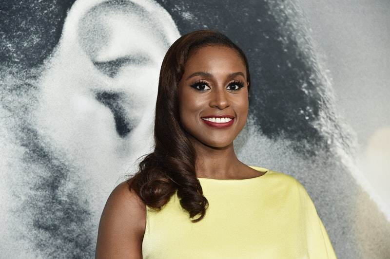 Issa Rae got married to her fiancé Louis Diame in 2 wedding gowns by Vera Wang: one with crystal emb...