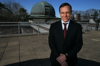 CAMBRIDGE, MA - MARCH 27: Avi Loeb, the chair of Harvard's University's Astronomy Department, poses ...