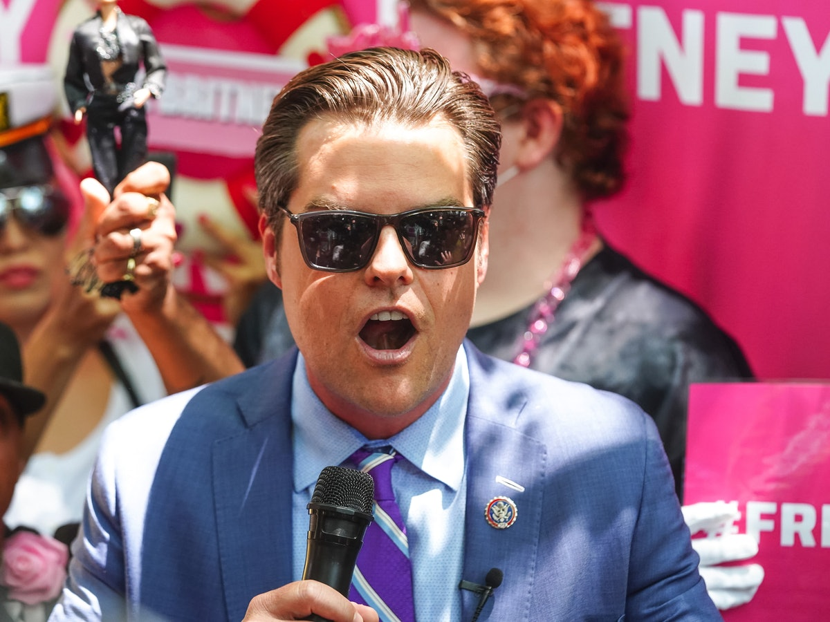 LOS ANGELES, CA - JULY 14: Matt Gaetz is seen on July 14, 2021 in Los Angeles, California.  (Photo b...
