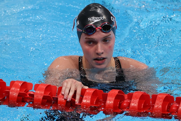 Claire Curzan is one talented swimmer.