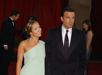 Jennifer Lopez and Ben Affleck canceled their wedding in 2004 before getting back together 17 years ...