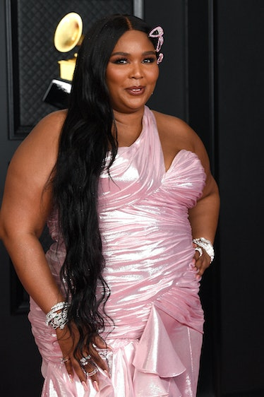 Lizzo asked fans to stay social distanced from her.