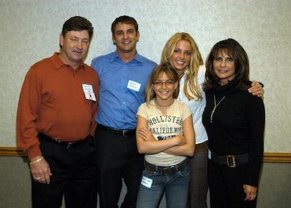 (EXCLUSIVE, Premium Rates Apply) Britney Spears's family: Jamie Spears, Bryan Spears, Jamie-Lynn Spe...