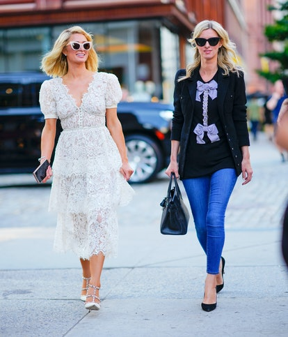 Paris Hilton's baby will soon join Nicky Hilton Rothschild's daughters in the ever-growing Hilton family. (Photo by Gotham/GC Images)