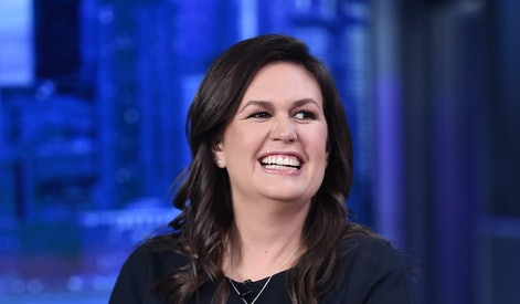 NEW YORK, NEW YORK - SEPTEMBER 17: (EXCLUSIVE COVERAGE) FOX News Contributor Sarah Huckabee Sanders ...