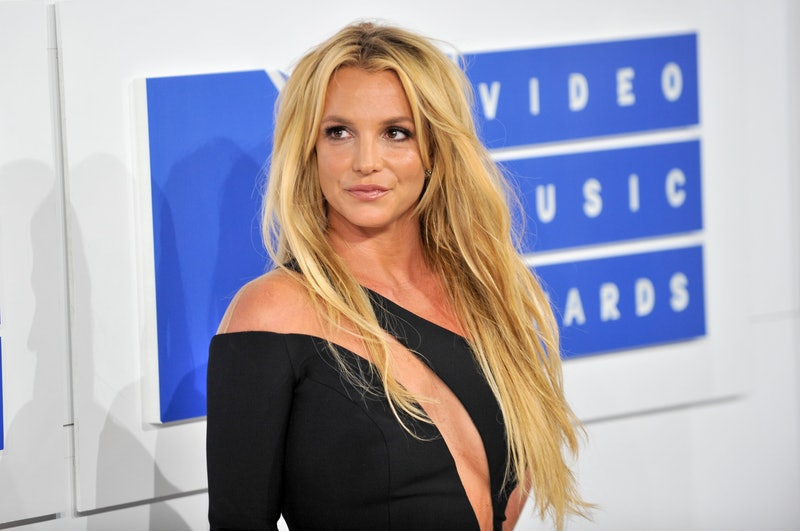 NEW YORK, NY - AUGUST 28:  Singer Britney Spears arrives at the 2016 MTV Video Music Awards at Madis...