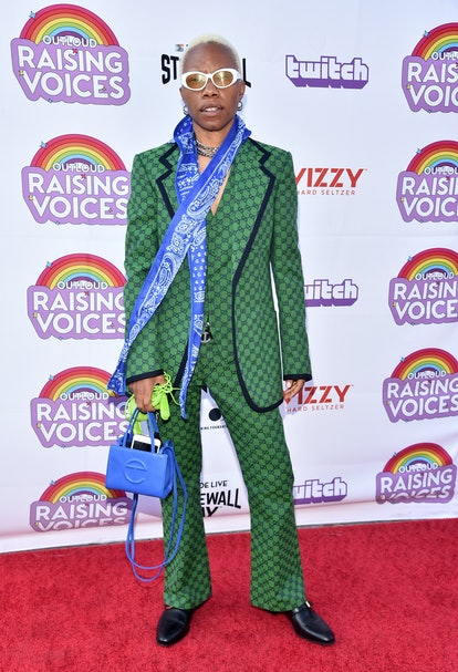 LOS ANGELES, CALIFORNIA - JUNE 04: Tygapaw attends the Raising Voices Concert Series at The Los Ange...