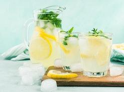 Creamy lemonade is just one refreshing lemon drink.