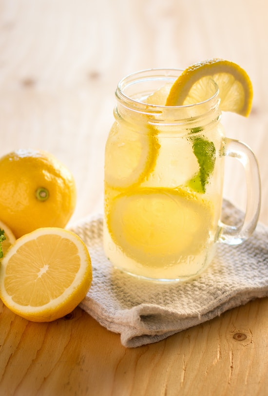 Lemonade is a summer staple.