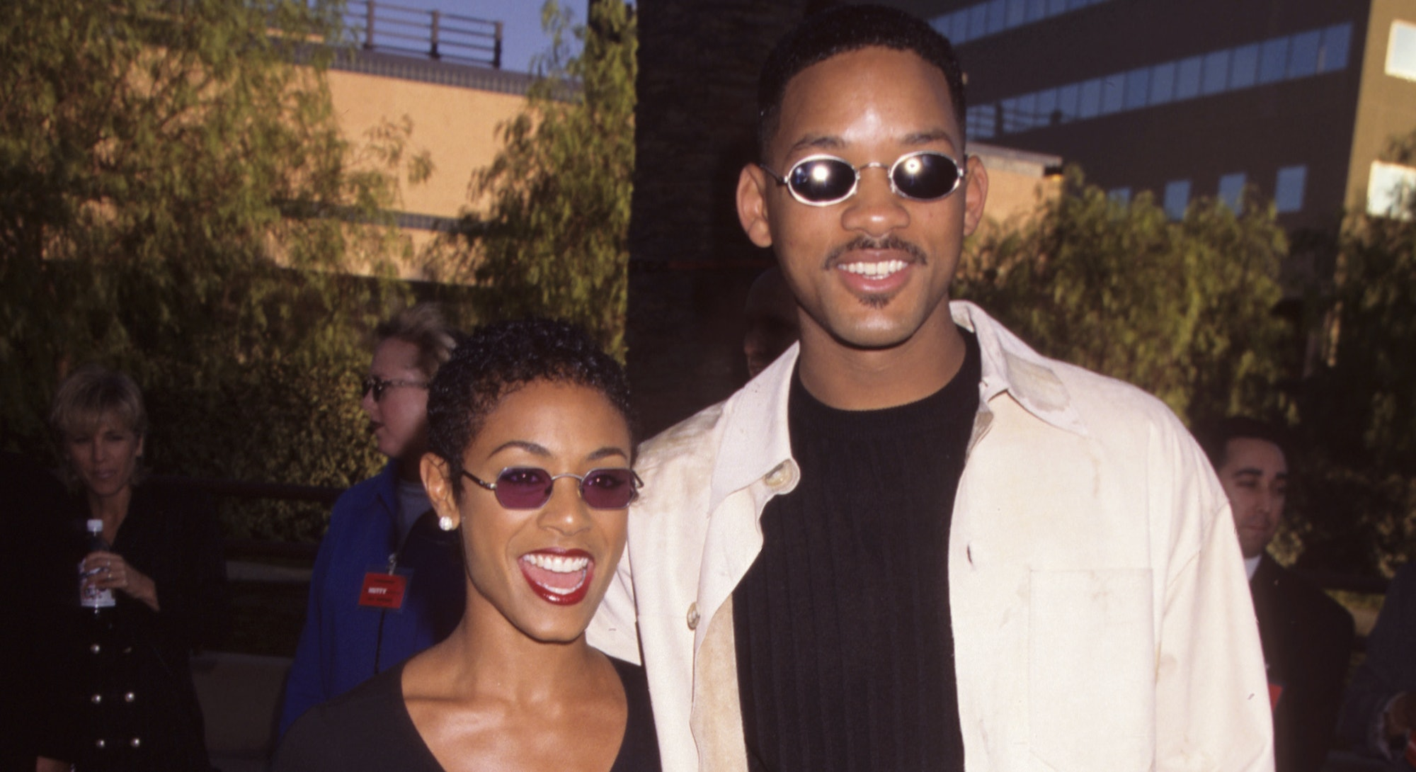 """Jada Pinkett and Will Smith during """"The Nutty Professor"""" Los Angeles Benefit Premiere at Universal S..."""