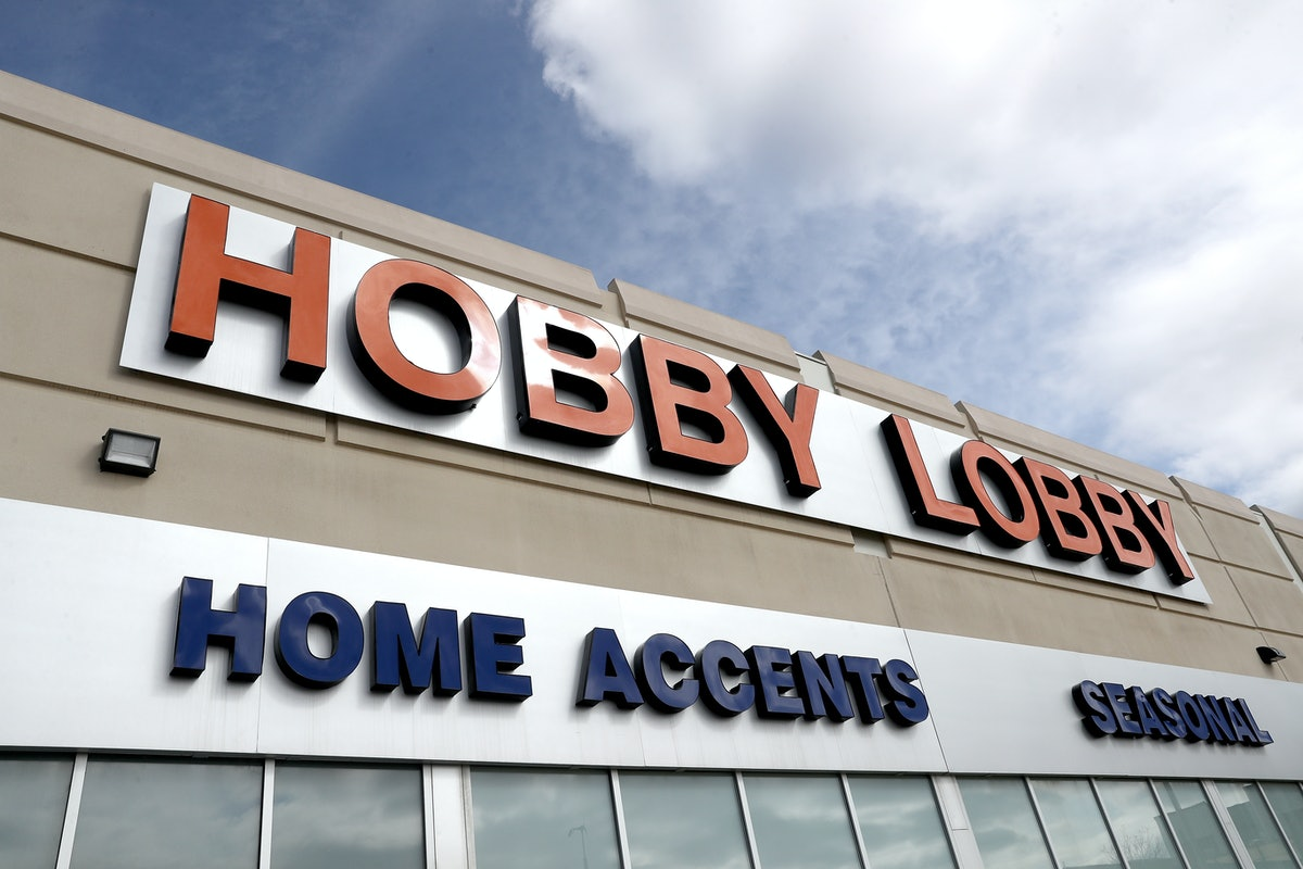 LAKEWOOD, COLORADO - APRIL 03:  A Hobby Lobby store sits closed after the chain closed due to the CO...