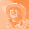 VAN HORN, TEXAS - JULY 20: Jeff Bezos laughs as he speaks about his flight on Blue Origin's New Shep...