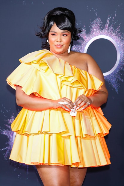 LOS ANGELES, USA - NOVEMBER 24: (EDITORS NOTE: Image has been digitally retouched) Lizzo arrives at ...
