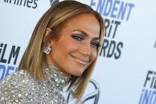 SANTA MONICA, CALIFORNIA - FEBRUARY 08: Jennifer Lopez attends the 2020 Film Independent Spirit Awar...