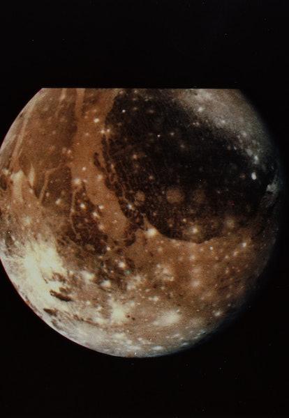 Jupiter's Moon, Ganymede (Photo by © CORBIS/Corbis via Getty Images)