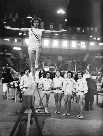 With the 2021 Olympics under way, it's time to take a walk down memory lane and see the Team USA gym...