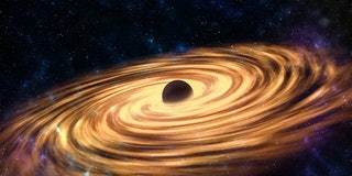 Updated versión of a Black hole with accretion disk