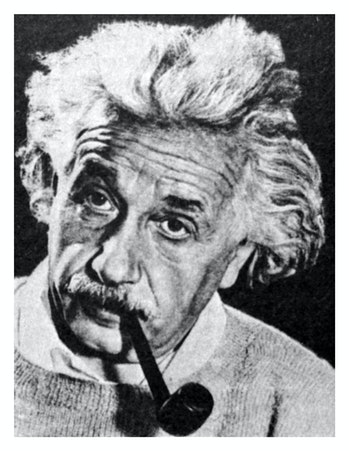 Albert Einstein (1875-1955). Was born in Germany. For a long time he lived in Switzerland and the US...
