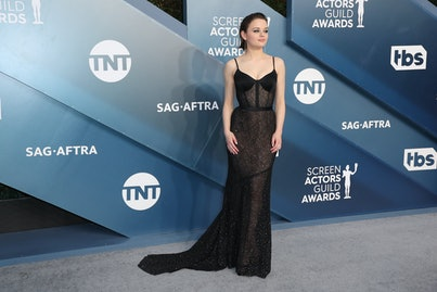 LOS ANGELES, CALIFORNIA - JANUARY 19:  Joey King attends 26th Annual Screen Actors Guild Awards at T...
