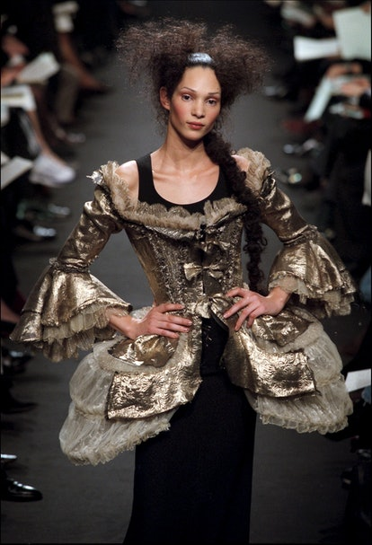 FRANCE - JANUARY 20:  Fashion Show Haute -Couture Spring -Summer 1998 In Paris, France On January 20...