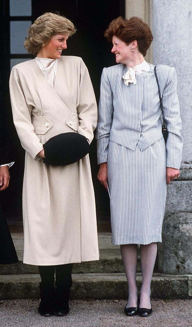 WEST HEATH, UNITED KINGDOM - NOVEMBER 12:  Princess Diana With Her Older Sister Lady Sarah Mccorquod...