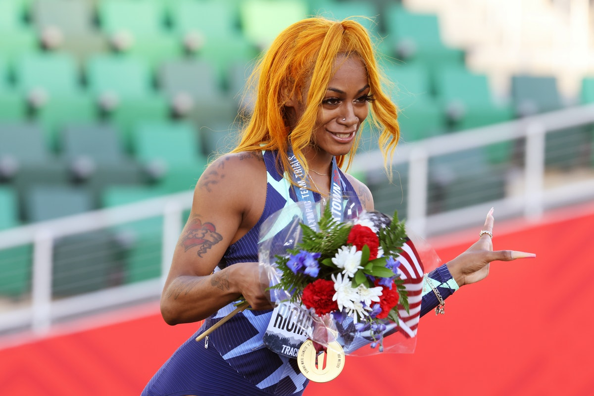 Sha'Carri Richardson may be suspended from the Tokyo Olympics, so fans are petitioning to let her co...