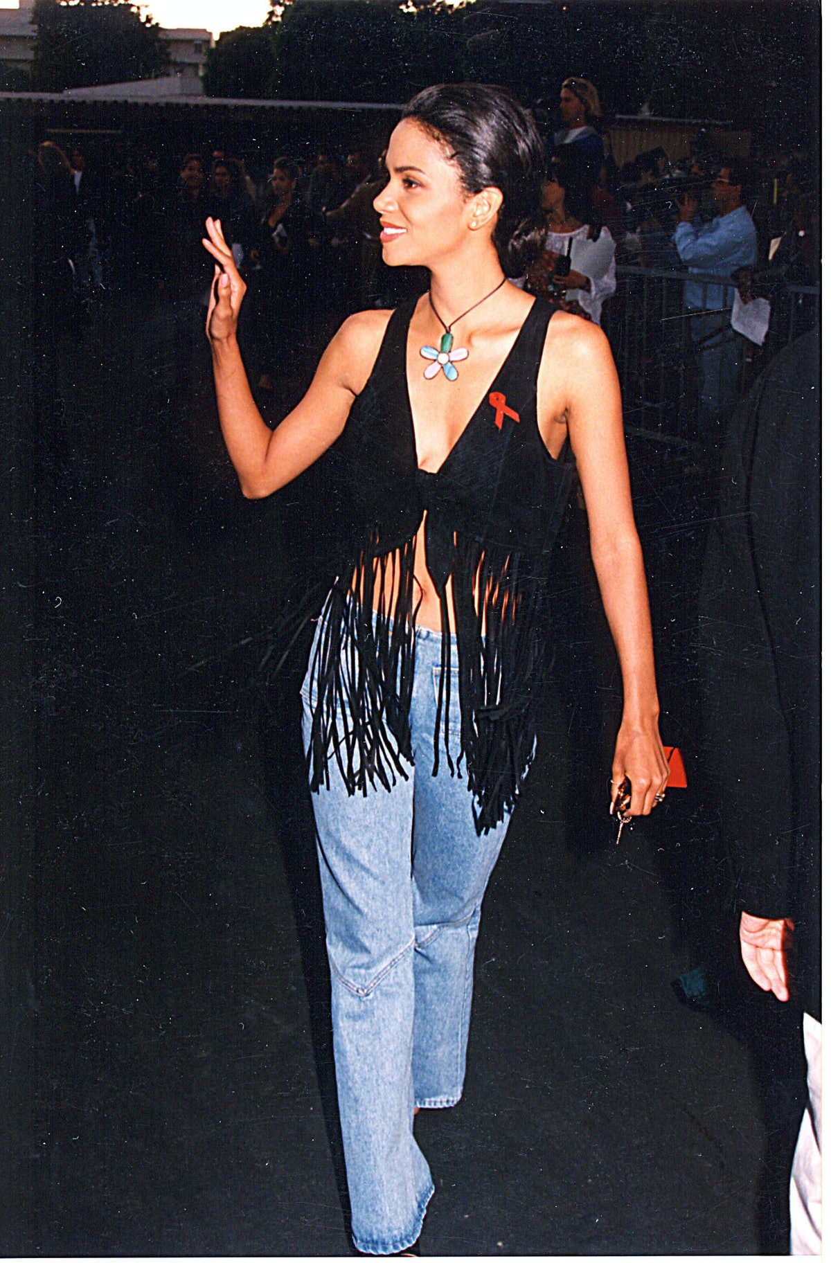 Halle Berry in jeans
