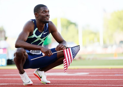Rai Benjamin is poised for Olympic glory. (Photo by Steph Chambers/Getty Images)