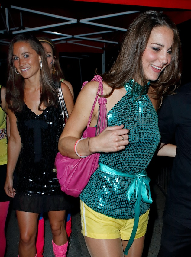 Kate and Pippa Middleton out for a  night on the town.