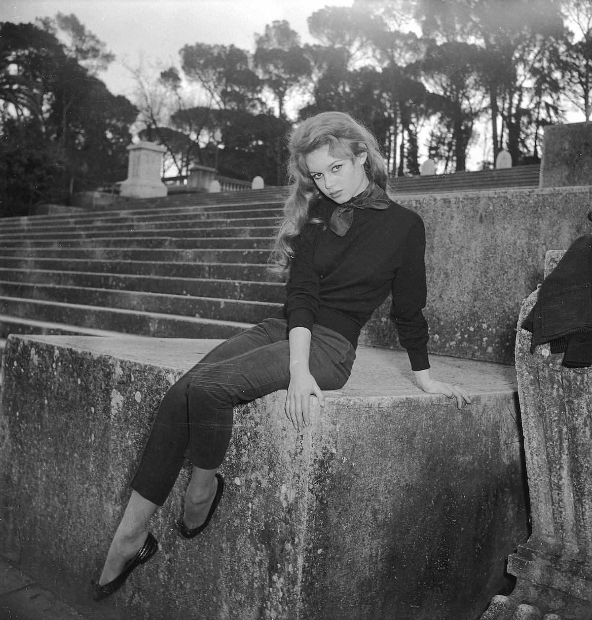 Brigitte Bardot in flats