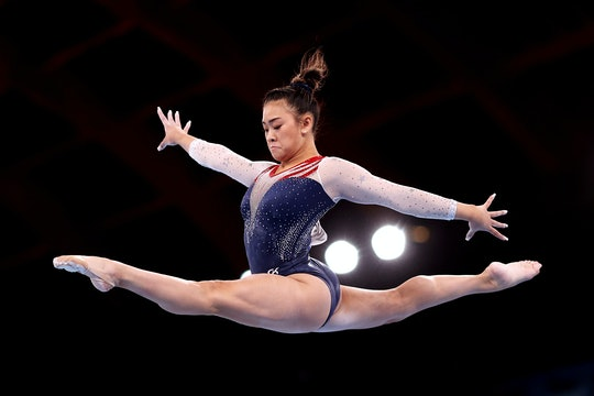 TOKYO, JAPAN - JULY 29: Sunisa Lee of Team United States competes on balance beam during the Women's...
